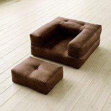 """Кресло-кровать """"Cube CHOCO VINTAGE"""""""