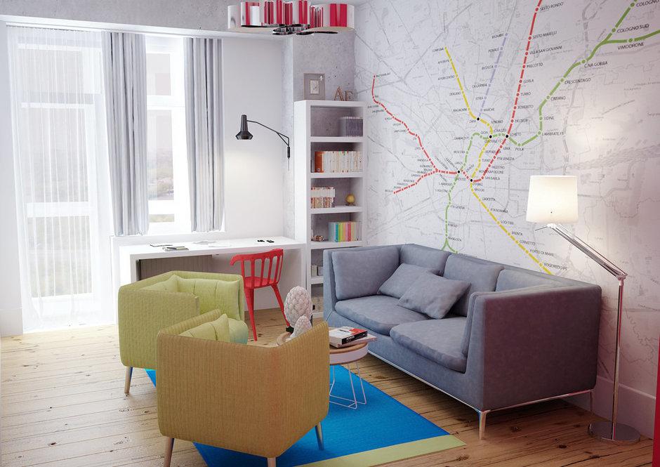 Фотография: Детская в стиле Лофт, Скандинавский, Квартира, Дома и квартиры, IKEA, Проект недели – фото на InMyRoom.ru