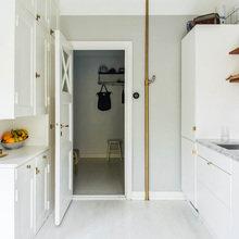 Фотография: Кухня и столовая в стиле Скандинавский, Декор интерьера, Малогабаритная квартира, Квартира – фото на InMyRoom.ru