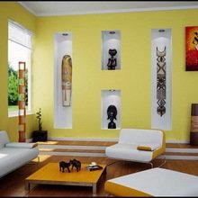 Фотография: Гостиная в стиле , Декор интерьера, Дизайн интерьера, Цвет в интерьере, Dulux, ColourFutures, Akzonobel – фото на InMyRoom.ru