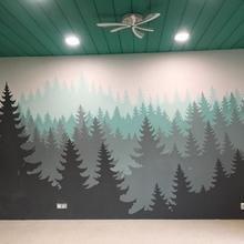 Фото из портфолио Роспись стен – фотографии дизайна интерьеров на INMYROOM