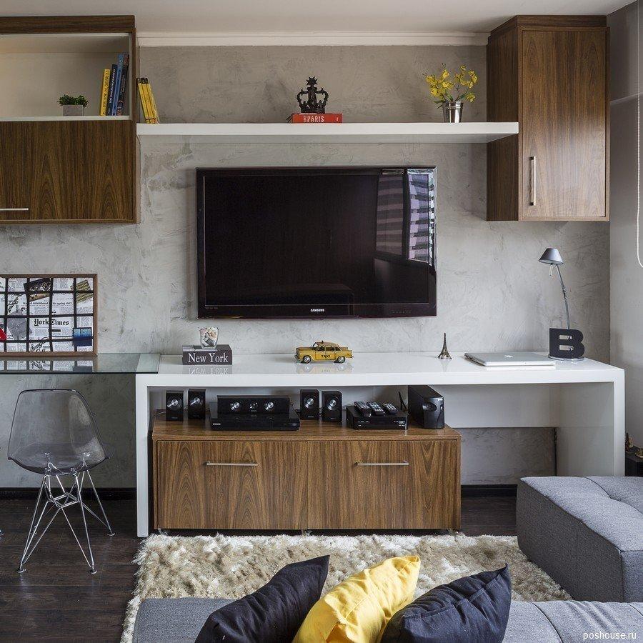 Фотография: Декор в стиле Современный, Малогабаритная квартира, Квартира, Дома и квартиры – фото на InMyRoom.ru