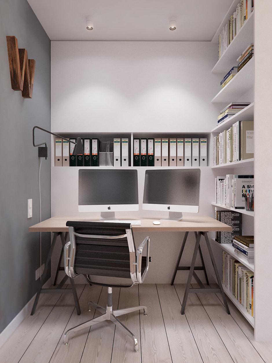 Фотография: Офис в стиле Лофт, Квартира, Дома и квартиры, IKEA, Проект недели – фото на InMyRoom.ru