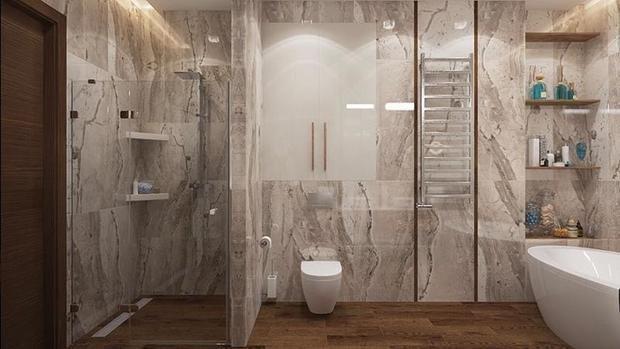 Фотография: Ванная в стиле Современный, Советы, Перепланировка, Марина Лаптева – фото на InMyRoom.ru