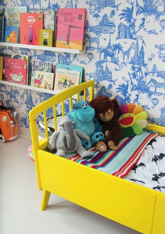 Фотография: Детская в стиле Современный, Интерьер комнат, Библиотека – фото на InMyRoom.ru
