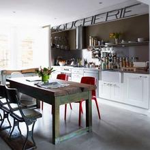 Фотография: Кухня и столовая в стиле Кантри, Скандинавский, Современный, Хай-тек – фото на InMyRoom.ru