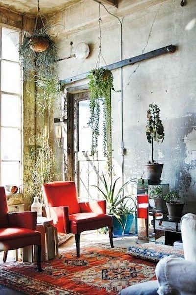 Фотография: Гостиная в стиле Прованс и Кантри, Лофт, Восточный, Эклектика, Декор интерьера, Декор дома, Плетеная мебель – фото на InMyRoom.ru