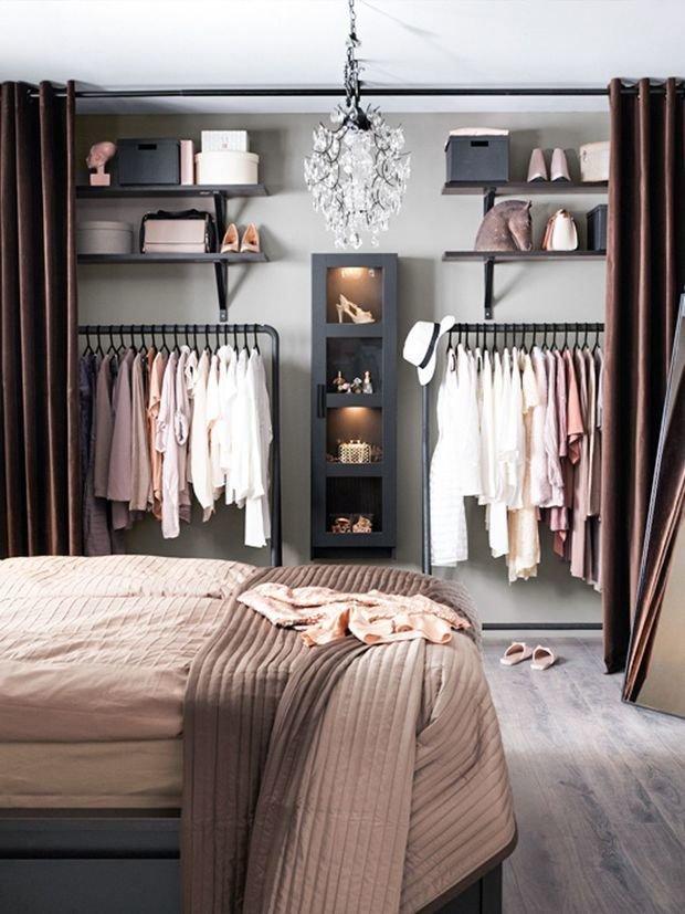 Фотография: Спальня в стиле Скандинавский, Гардеробная, Советы, Raumplus – фото на InMyRoom.ru