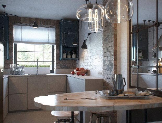 Фотография:  в стиле , Кухня и столовая, Гид – фото на InMyRoom.ru