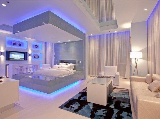 Фотография: Спальня в стиле Хай-тек, Стиль жизни, Советы – фото на InMyRoom.ru