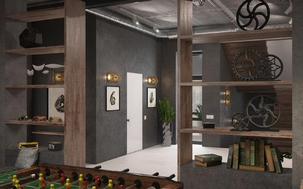 Фото из портфолио Дизайн интерьера дома 2 этаж – фотографии дизайна интерьеров на INMYROOM