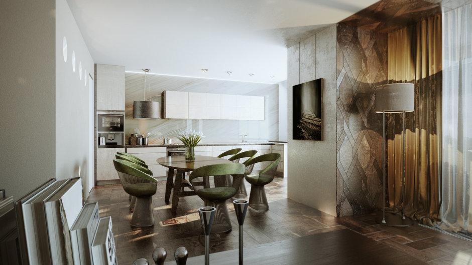 Фотография: Кухня и столовая в стиле Современный, Эко,  – фото на InMyRoom.ru