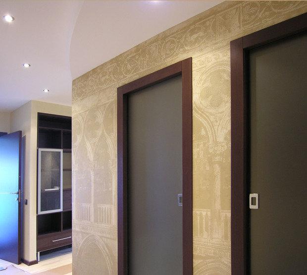 Фото из портфолио Декоративная роспись Венеция – фотографии дизайна интерьеров на INMYROOM