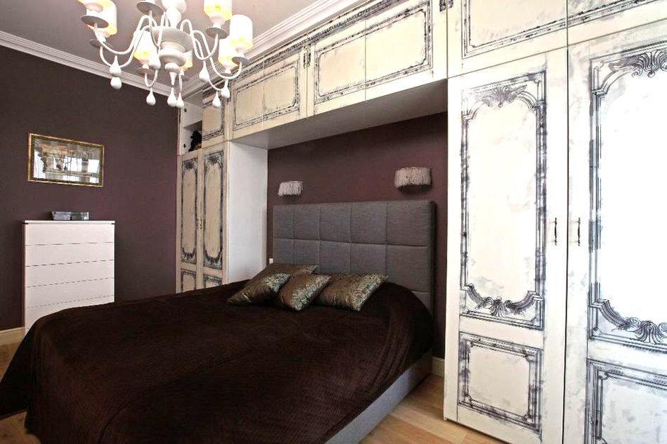 Фотография: Спальня в стиле Прованс и Кантри, Квартира, Дома и квартиры, Проект недели, Москва – фото на InMyRoom.ru