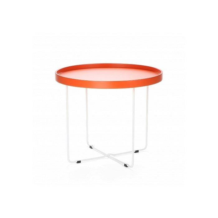 """Кофейный стол """"Arvika"""" с круглой столешницей из мдф"""