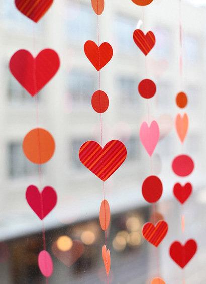 Фотография: Гостиная в стиле Скандинавский, Декор интерьера, DIY, Праздник, День святого Валентина – фото на InMyRoom.ru
