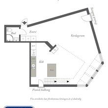 Фотография: Планировки в стиле , Скандинавский, Квартира, Дома и квартиры – фото на InMyRoom.ru