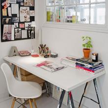 Фотография: Офис в стиле Скандинавский, Кантри, Малогабаритная квартира, Квартира, Дома и квартиры, Стокгольм – фото на InMyRoom.ru
