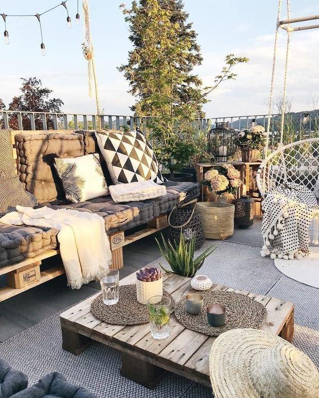 Фотография: Балкон в стиле Скандинавский, DIY – фото на INMYROOM