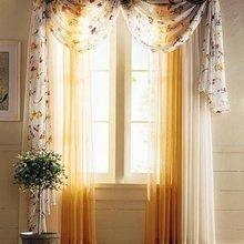 Фотография: Декор в стиле Кантри, Декор интерьера, Текстиль, Окна – фото на InMyRoom.ru