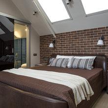 Фотография: Спальня в стиле Лофт, Квартира, Проект недели – фото на InMyRoom.ru