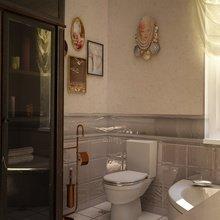 Фотография: Ванная в стиле Классический, Современный, Кухня и столовая, Дом, Дома и квартиры – фото на InMyRoom.ru