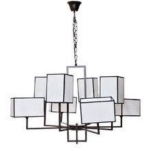 Светильник потолочный 8 плафонов