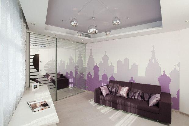 Фото из портфолио Дизайн-проект квартиры в современном стиле  – фотографии дизайна интерьеров на INMYROOM