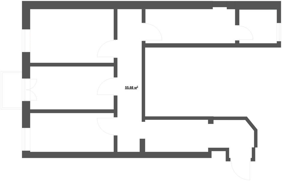 Фотография: Планировки, Прочее в стиле , Классический, Квартира, Дома и квартиры, Проект недели – фото на InMyRoom.ru