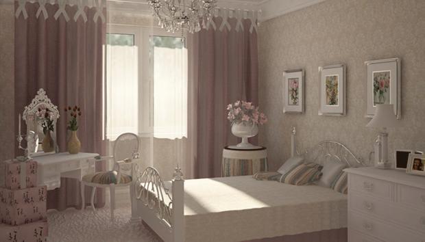 Фотография: Спальня в стиле Классический, Современный, Франция, Интерьер комнат, Интерьерная Лавка – фото на InMyRoom.ru
