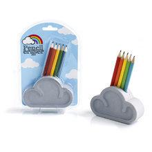 Набор из ластика и карандашей cloud