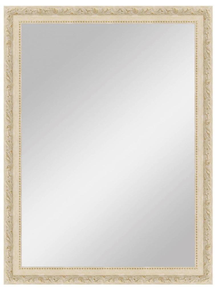 Купить Настенное зеркало большое Светлая лоза в кремовой рам, inmyroom, Россия