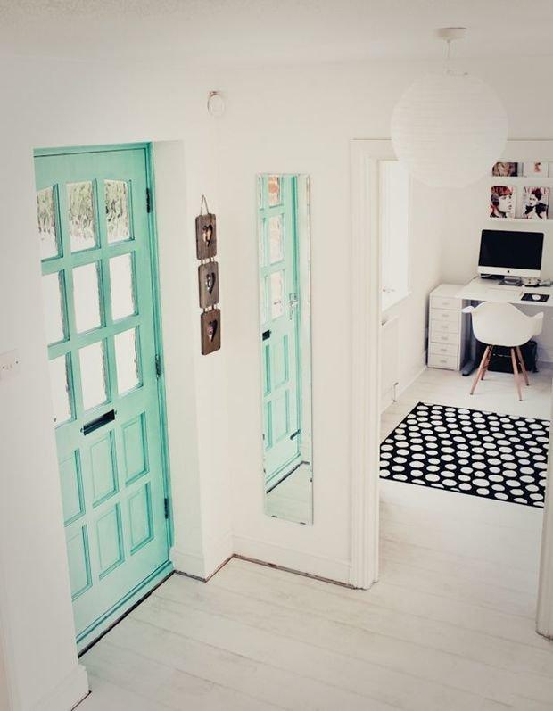 Фотография: Прихожая в стиле Скандинавский, Декор интерьера, Дизайн интерьера, Цвет в интерьере – фото на InMyRoom.ru