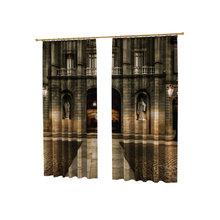Шторы с фотопечатью: Архитектура Средневековья