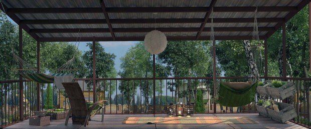 Фото из портфолио дизайн мансарды с террасой – фотографии дизайна интерьеров на INMYROOM