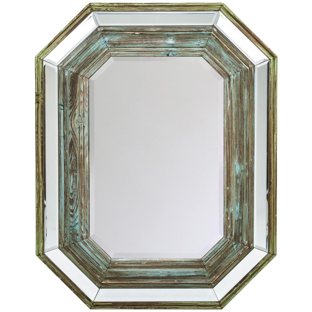 Купить Настенное зеркало прадо в раме из массива ели, inmyroom, Россия