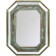 Настенное зеркало Прадо в раме из массива ели