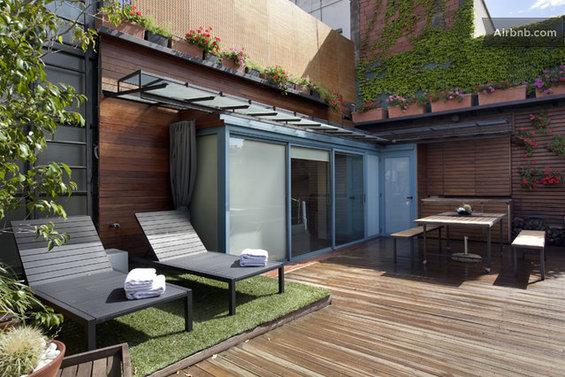 Фотография: Терраса в стиле Прованс и Кантри, Квартира, Дома и квартиры, Барселона, Airbnb – фото на InMyRoom.ru