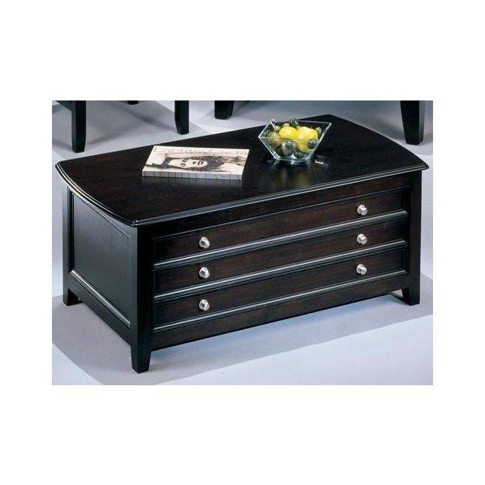 Журнальный столик с выдвижными ящиками Carlyle
