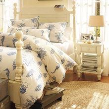 Фотография: Спальня в стиле Кантри, Декор интерьера, Квартира, Аксессуары, Декор, Мебель и свет, Эко, эко-френдли – фото на InMyRoom.ru