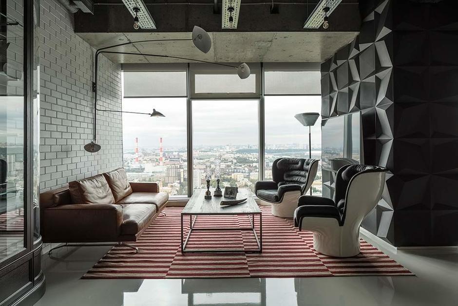 Фотография: Гостиная в стиле Хай-тек, Флористика, Декор, Интервью, Макс Лангу – фото на InMyRoom.ru