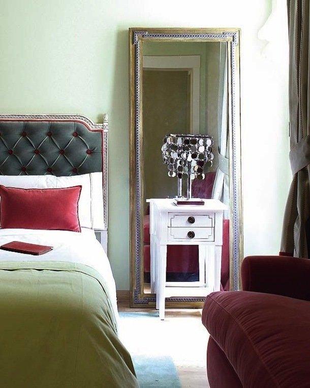 Фотография: Спальня в стиле Прованс и Кантри, Малогабаритная квартира, Квартира, Освещение, Декор, Дома и квартиры – фото на InMyRoom.ru