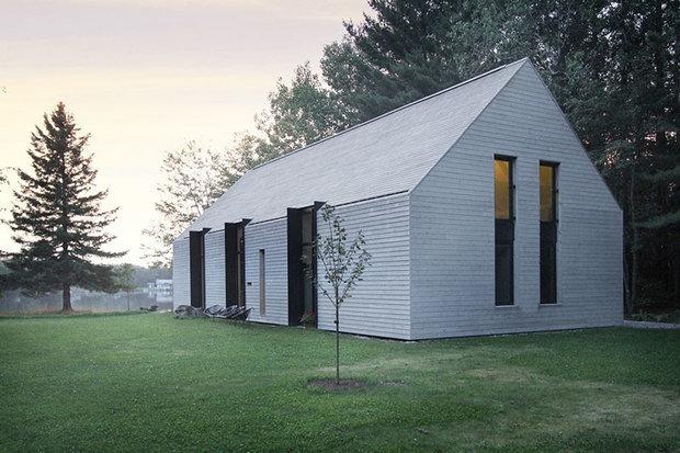 Фотография: Архитектура в стиле , Современный, Дом, Канада, Дом и дача, Квебек, Более 90 метров – фото на INMYROOM