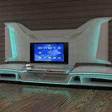 Фотография: Мебель и свет в стиле Хай-тек – фото на InMyRoom.ru
