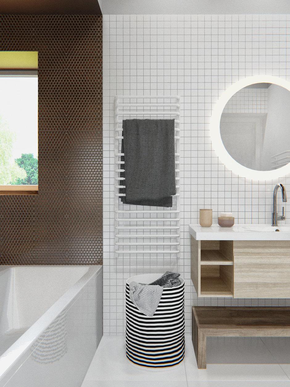 Фотография: Ванная в стиле Современный, Дом, Дома и квартиры, IKEA, Проект недели – фото на InMyRoom.ru