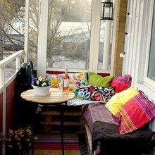 Фото из портфолио Балконы – фотографии дизайна интерьеров на InMyRoom.ru