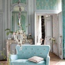 Фотография: Гостиная в стиле Кантри, Декор интерьера, Дом, Дизайн интерьера, Цвет в интерьере – фото на InMyRoom.ru