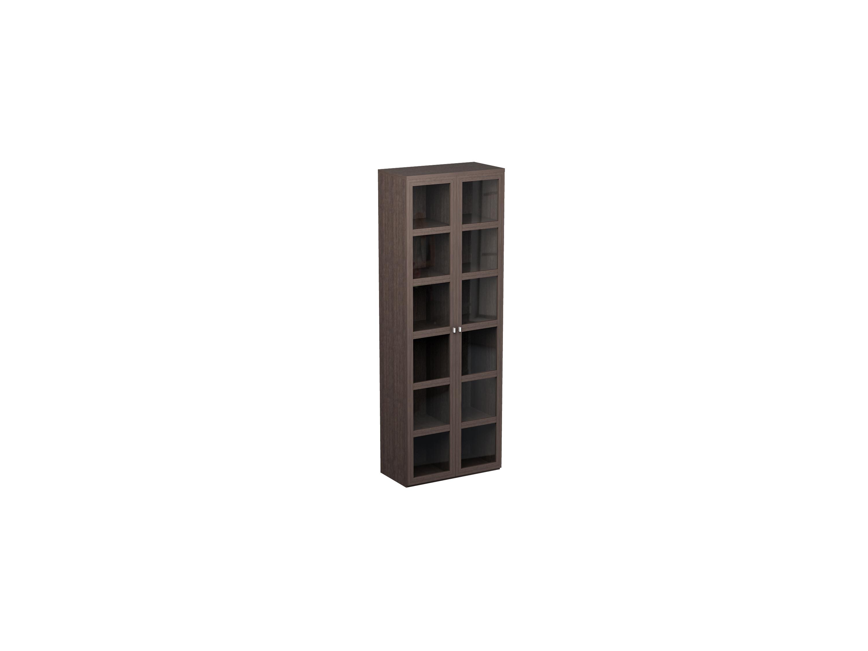 Купить со скидкой Шкаф двойной Noire с 12 отделениями для хранения