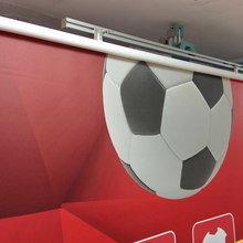 Фото из портфолио Рулонные шторы с фотопечатью – фотографии дизайна интерьеров на INMYROOM
