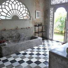 Фотография: Ванная в стиле Кантри, Современный, Восточный, Интерьер комнат, Прованс, Ванна – фото на InMyRoom.ru